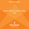 Sunny Days In Home Care Thumbtack Spotlight